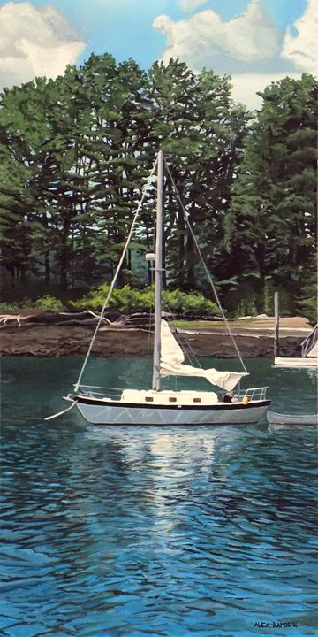 Sailboat at the Isle of Springs - Alex Ramos