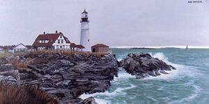 Portland Headlight #2