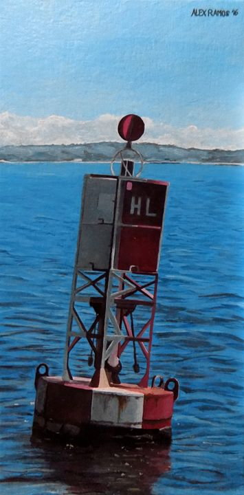 Red Lighted Buoy - Alex Ramos
