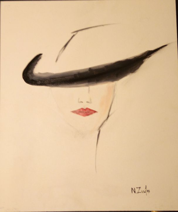 The Ladey with Hat - Nick Ziozas