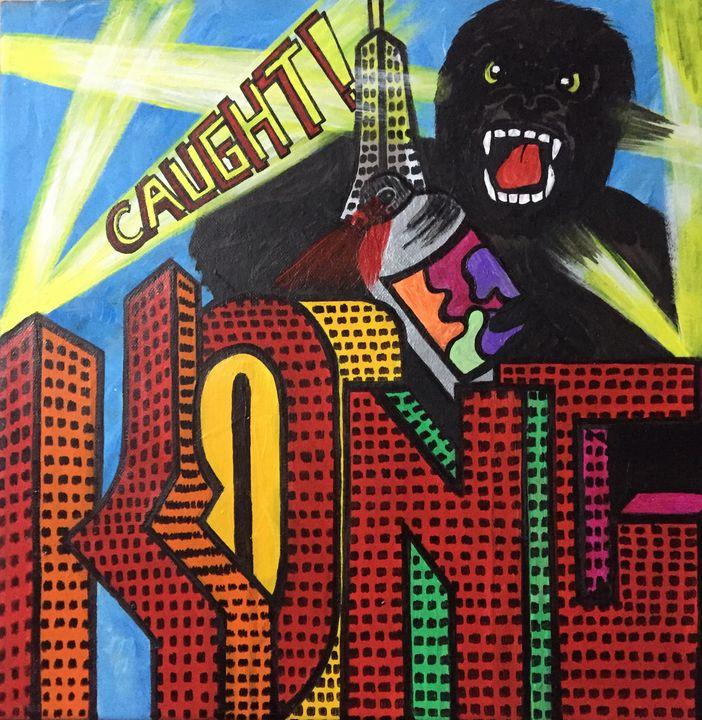 Kong caught ! - Creativekookie