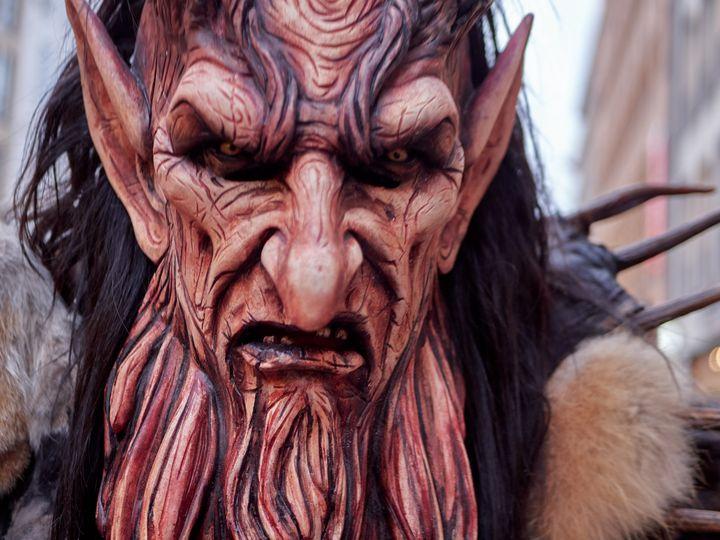 Mountain red devil krampus - Christian Mueller