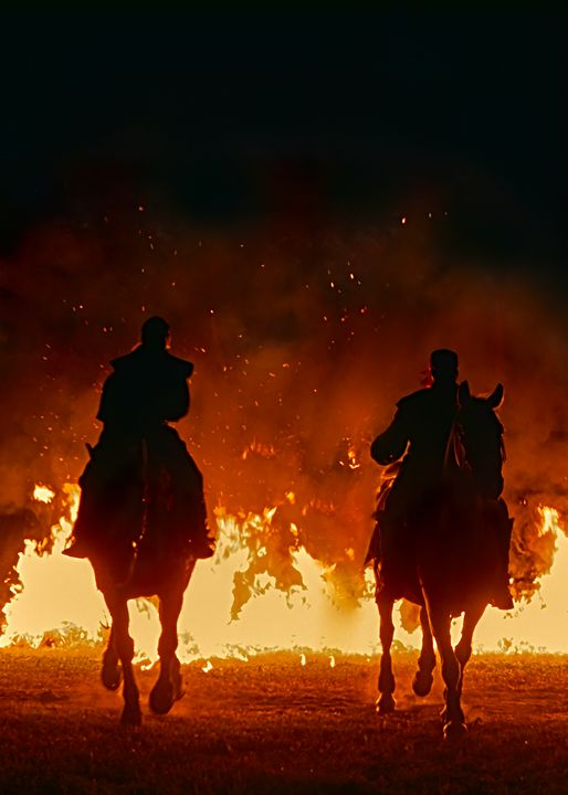 Riders with fire - Christian Mueller