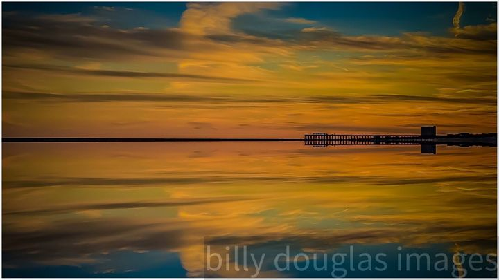 Sunset and pier - Billy Douglas Images