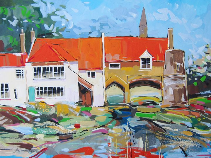 Pulls Ferry, Norwich. UK - ArtPainting