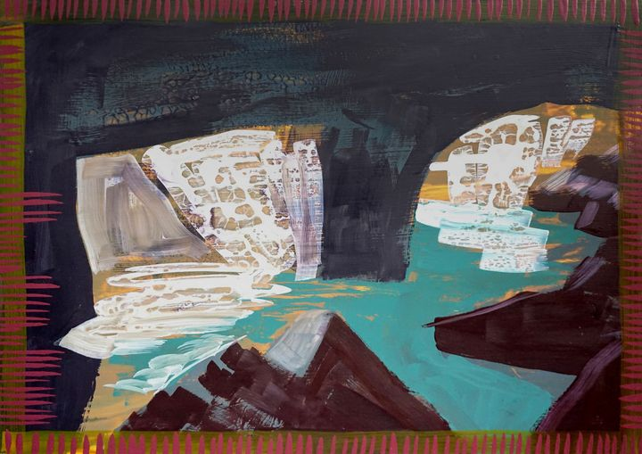 View From Inside A Cave No.6 - Yenny Kimna