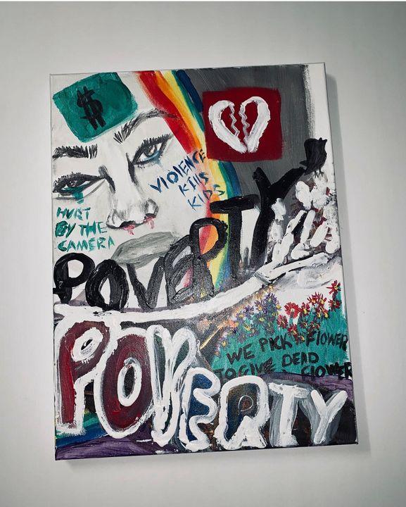 Poverty Piece - Nasir Paintings