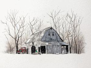 Winter Barnyard Frolic