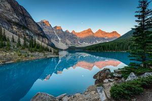 Rocky Mountain Sunrise Banff Canada