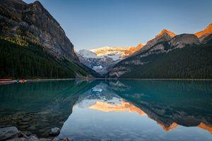 Lake Louise Sunrise Banff NP Canada