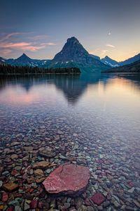 Glacier National Park Sunset Montana