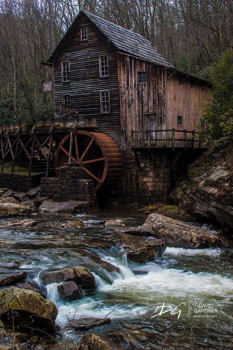 Glade Creek Grist Mill - David Gardner Photography
