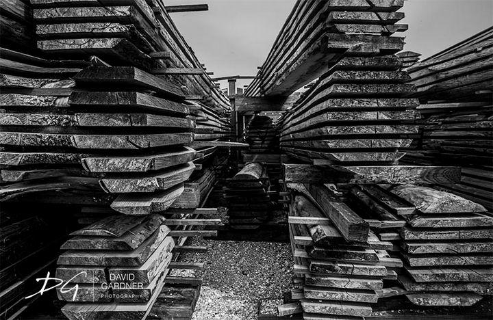 Zaanse Shans Lumber Mill - David Gardner Photography