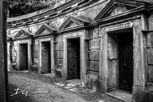 Highgate Cemetery Tombs 1