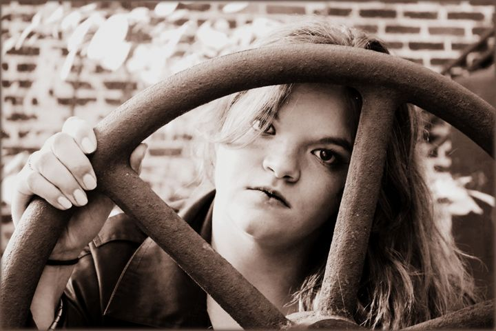 Through the Wheel - Rehling Photography