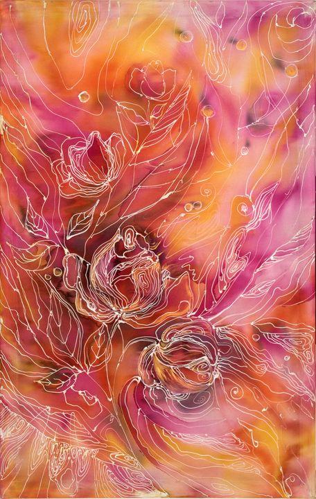 Abstract roses - IulianaArch