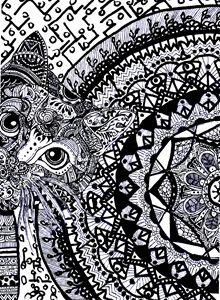 Zentangle Art - Doodles