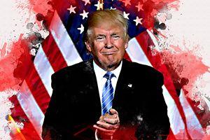Donald Trump Painting