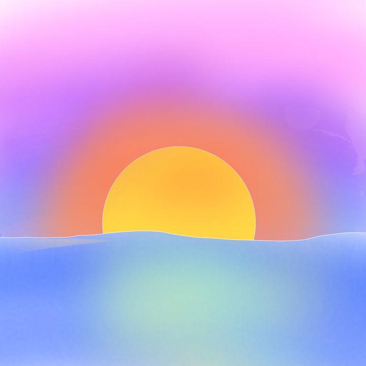 Bi Sunset - HeyItsGrace