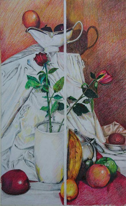 Still Life with Flowers - Bienarte