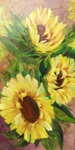 Last Sunflowers