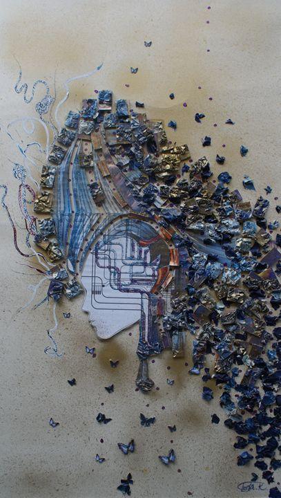 The Great Mind - Iveta.K.Art