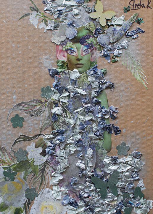 Flower Fairy - Iveta.K.Art