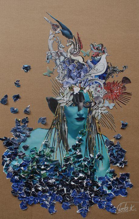 Nude Fairy - Iveta.K.Art