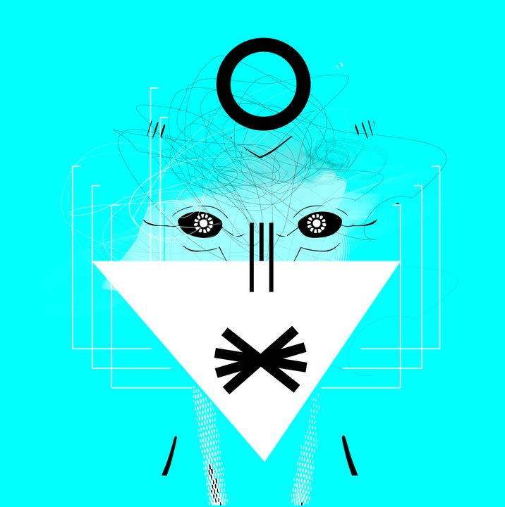 1 - white-dark-face-robo-man-anime - ART-DESIGN