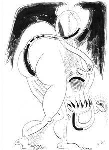 woman - dragon