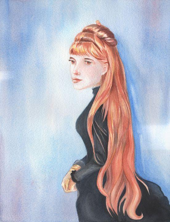 Portrait of Mademoiselle Alice Gueri - NopoArt