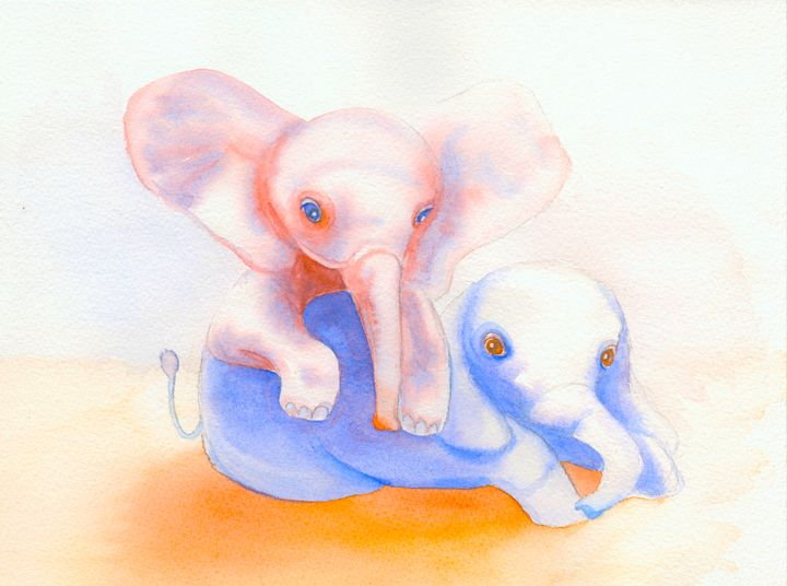 elephants - NopoArt