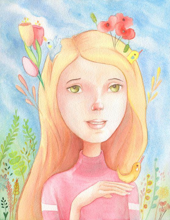 Spring princess - NopoArt