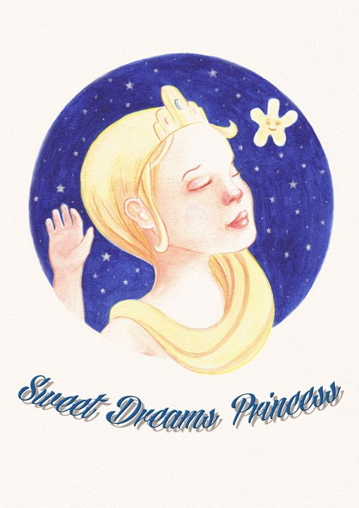 Princess sleep - NopoArt
