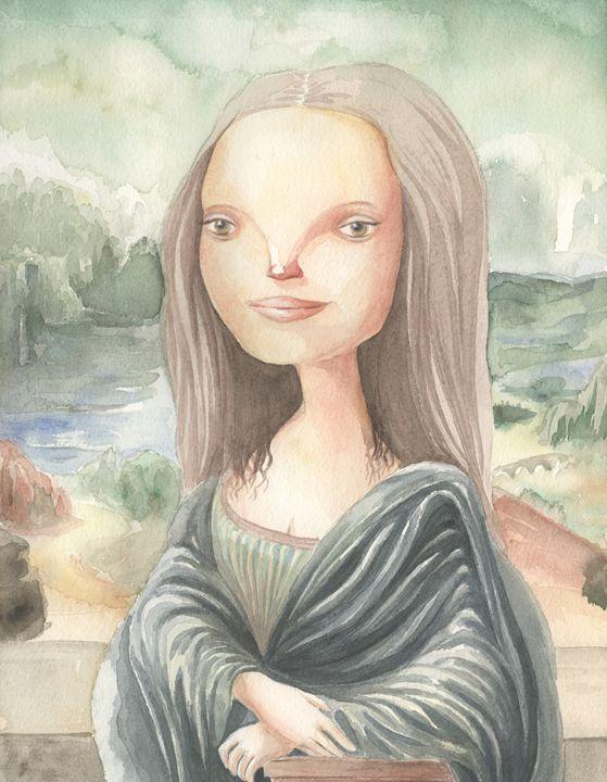 Mona Lisa - NopoArt