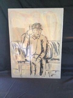 Man on a bus - Hodges Design Studio