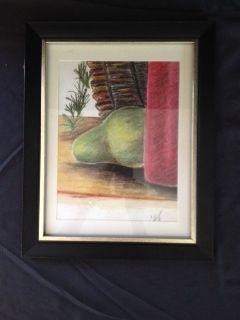 Pear with Basket - Hodges Design Studio