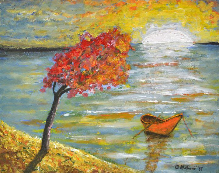 White Sunset - Oliver Martinović