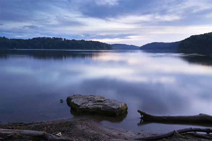 Lake at Dusk - Nick Mateja Photography