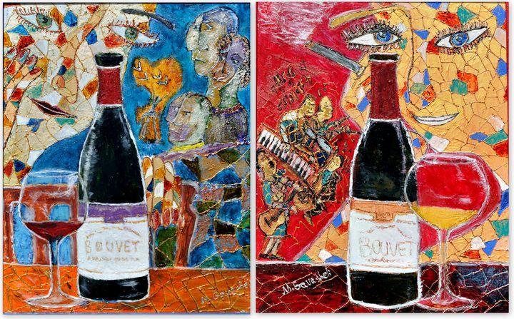 In vino veritas II - Maya Gavasheli