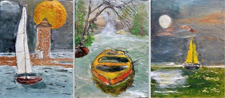 Boats - Maya Gavasheli