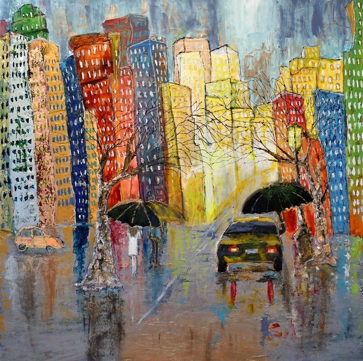 Listening to the rain - Maya Gavasheli