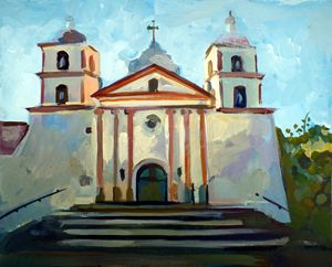 Santa Barbara Mission - Filip