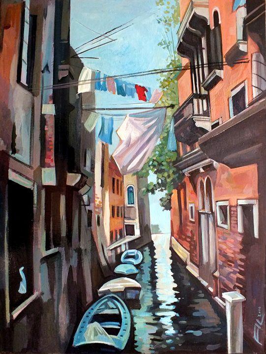 Canal in Venice - Filip