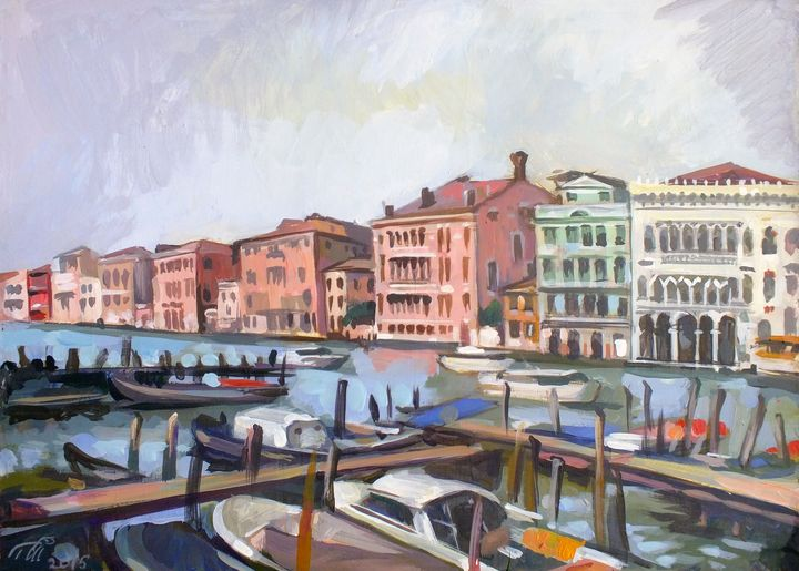 View of Canal Grande - Filip