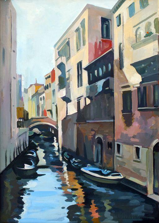 Boats in Venice - Filip