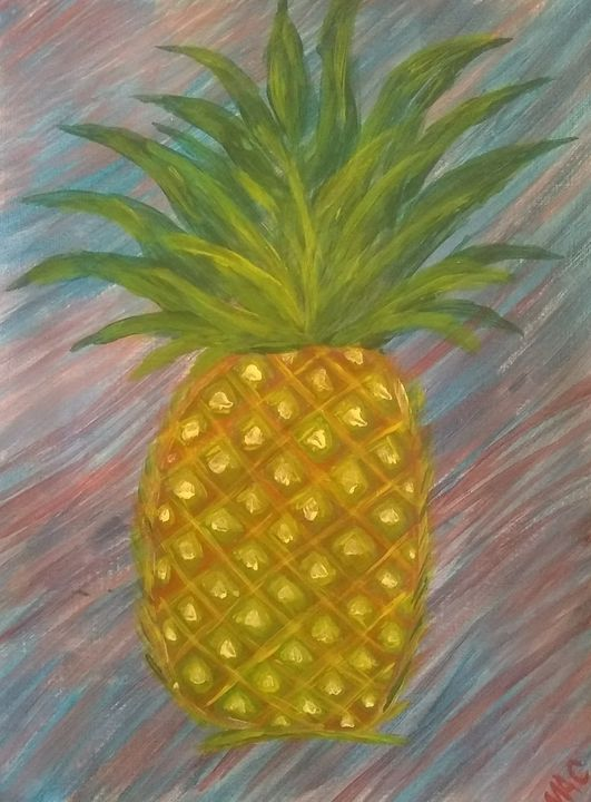 Pineapple - Acorn Art