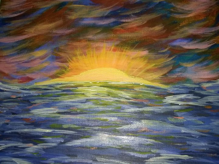 Stormy Seas - Acorn Art