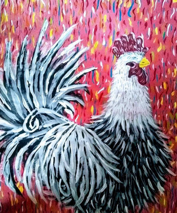 Rooster - Acorn Art