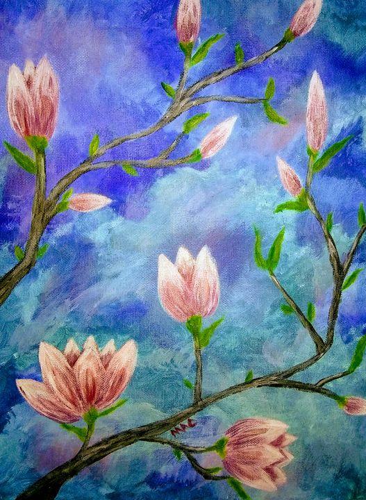 Spring Blossoms - Acorn Art